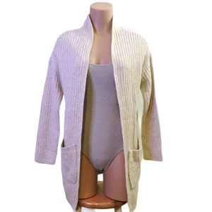 Urban heritage long thick cardigan size small